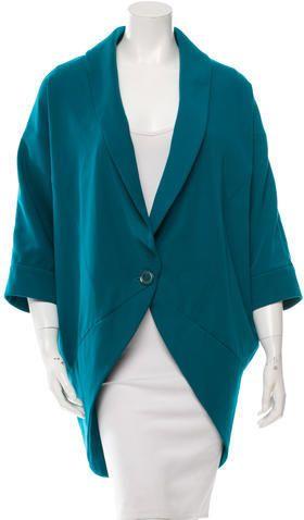 Rachel Zoe Oversize Dolman Sleeve Blazer