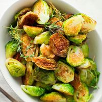 BHG's Newest Recipes:Pan-Roasted Brussels Sprouts Recipe