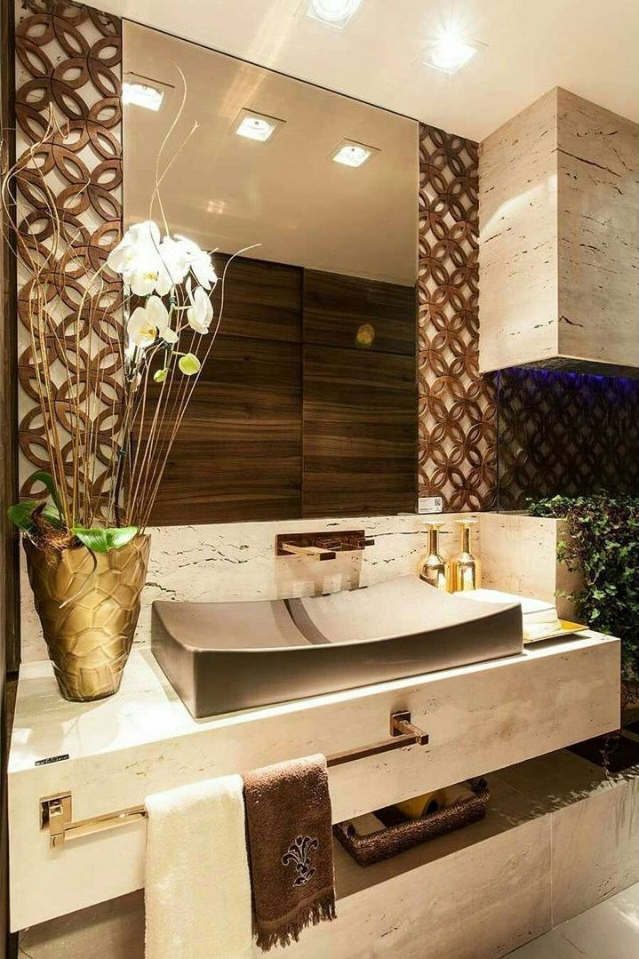 Adorable Powder Room Ideas Modern Small And Decorating Ideas In 2020 Modern Bathroom Decor Bathroom Decor Bathroom Interior