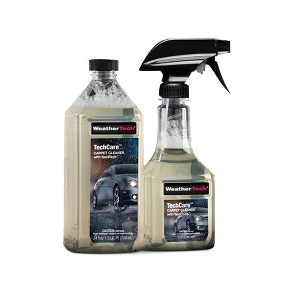 TechCare Carpet Cleaner with SpotTech - Easy to use formula that helps to remove organic and inorganic stains on virtually all automotive carpets and cloth interiors. SpotTech(TM) feature helps to repel future spots and stains by enhancing automotive carp
