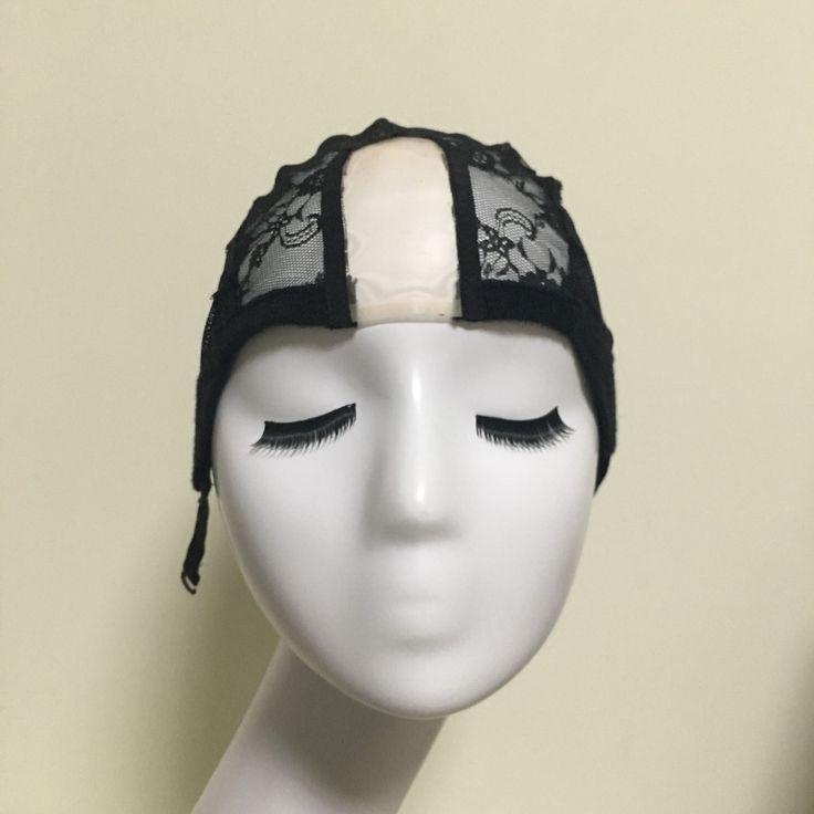 U Bagian Glueless Renda Topi Wig Untuk Membuat Wig Dengan Adjustable tali Tenun Caps Untuk Wanita Rambut Bersih & Hairnets Easycap 6024