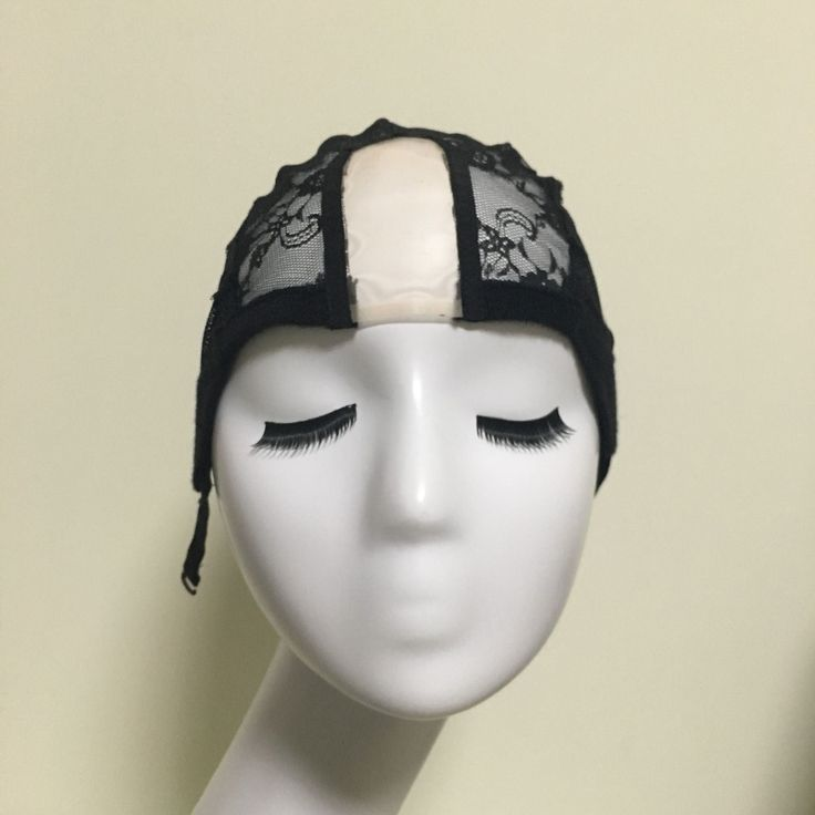 U Part Glueless Lace Wig Cap For Making Wigs With Adjustable Straps Weaving Caps For Women Hair Net & Hairnets Easycap  6024