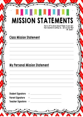 Leader in Me - Data Notebook from sutiknowati on TeachersNotebook.com -  (7 pages)  - Data Notebook-Mission Statement