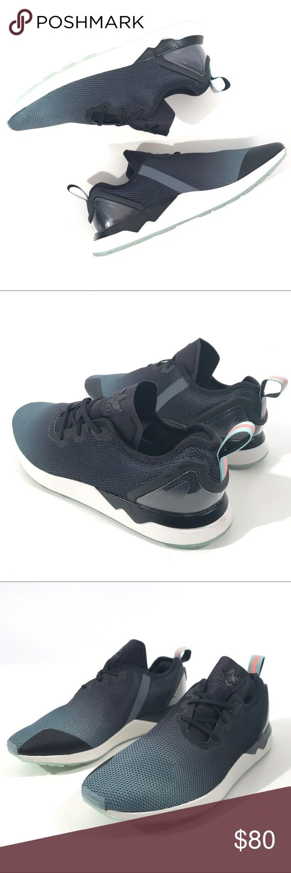 NEW Adidas Men ZX Flux ADV Asymmetrical Brand: Adidas Model: ZX Flux ADV Asymmetrical Size (US): 9.5, 10, 10.5 Model Number: S79055 Color: Core Black/Blue Glow Year: 2015 Condition: New without box MSRP: $110 Shoes are brand new without box and are guaranteed 100% authentic! adidas Shoes Sneakers