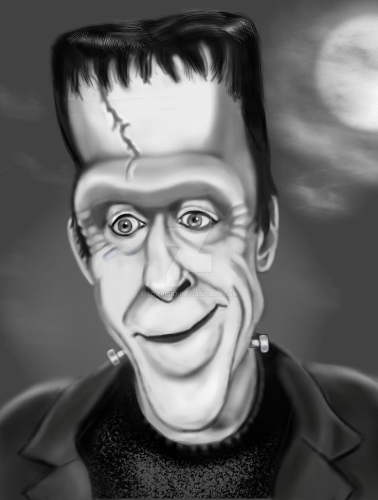 Herman Munster by adavis57