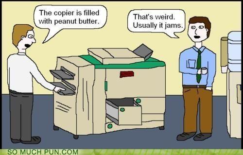 Photo copier jam?
