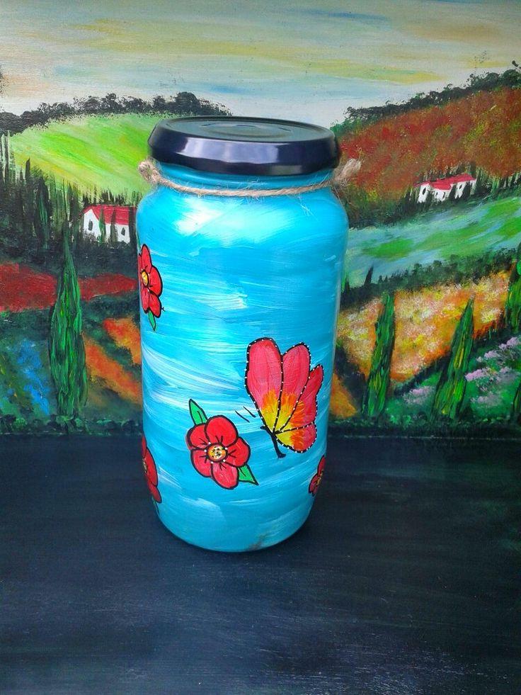 Butterfly jar in 2020 jar glass jars mason jars