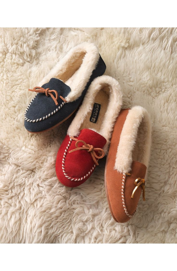 The coziest of slippers in the warmest of colors.