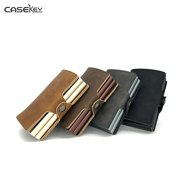 CaseKey Elegant Business Credit Card Holder Metal Wallet Porte Carte Pocket Bank ID Card Holder Case Gift Metal Card Holder. Yesterday's price: US $49.66 (40.89 EUR). Today's price: US $16.88 (14.05 EUR). Discount: 66%.