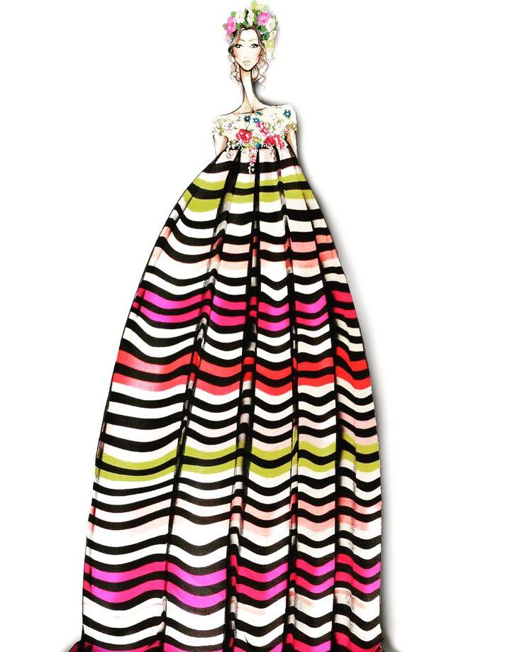 "Giada Curti ""Secret Garden"" Spring Summer 2017 Haute Couture Collection Presentation Dubai - Huawei Arab Fashion Week - october 10,2016 7pm - The Meydan Hotel"