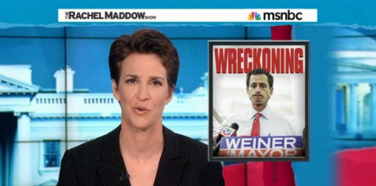 Rachel Maddow tore into New York City mayoral candidate Anthony Weiner on her Tuesday night show for new revelations that the former congressman continued sending sexually explicit messages to women on the Internet even after his resignation and redemptive interview with People magazine.