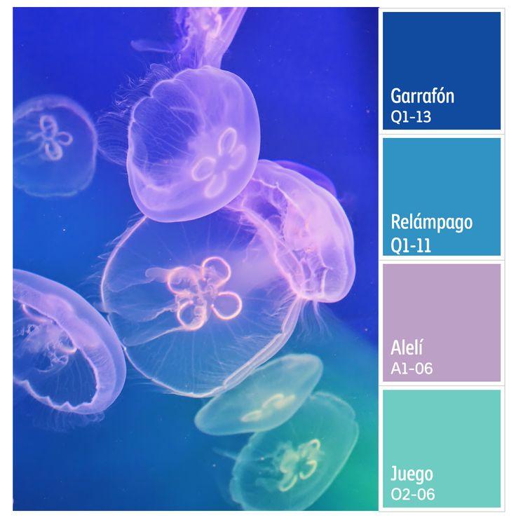 Colores fosforescentes.