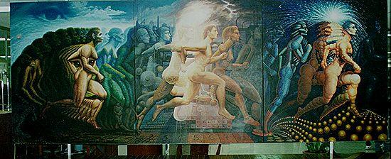 """""""A Evolução do Homem"""" - Octavio Ocampo"""