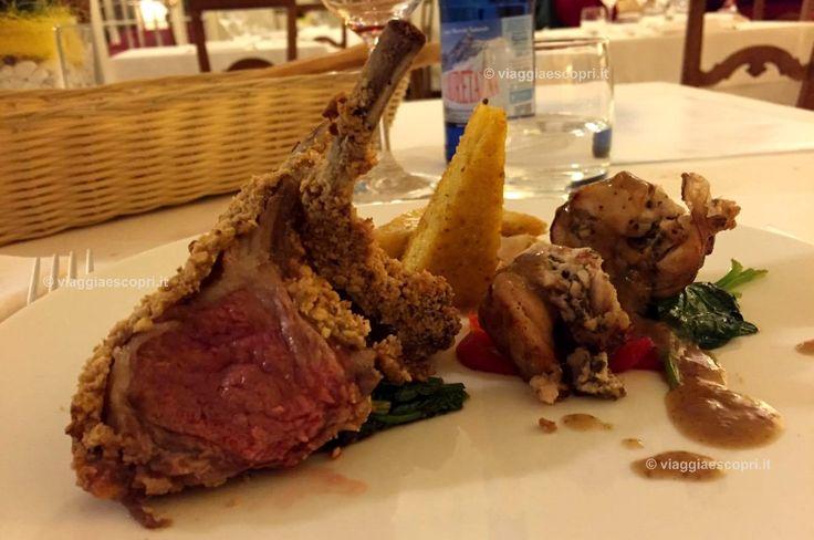 Costolette d'agnello e rollatina di coniglio al Golf Hotel Le Betulle #gattiezanonegourmetecharme #Biella #ExploreBiella http://www.viaggiaescopri.it/golf-hotel-le-betulle-non-solo-golf/