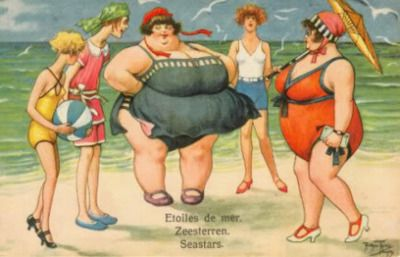 """Women come in all sizes and one isn't """"right"""" or """"better"""" than the other. Accept it."""