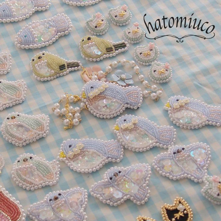 鳩みう子のハンドメイドブログ*キラキラのビーズ刺繍【4コマ/変な恋人(変恋)】 -11ページ目