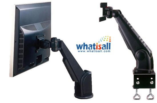 What is a VESA wall mount?  Wall mount is steel bracket which is used for attaching flat panel LCD TV or any computer screen to walls. For attaching bracket to any display, you need to have screw holes on rear side of TV or computer display.