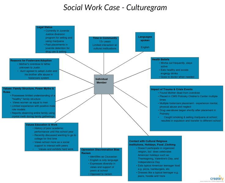 social work case example culturagram