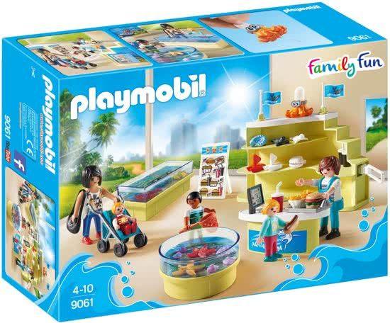 playmobil aquariumshop  9061  playmobil play mobile
