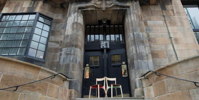 Mack Chairs by Method Studio outside Glasgow School of Art