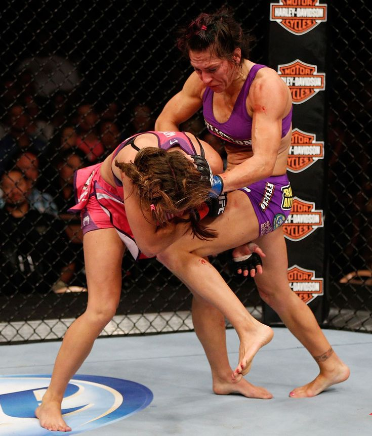 Cat Zingano knees Miesha Tate