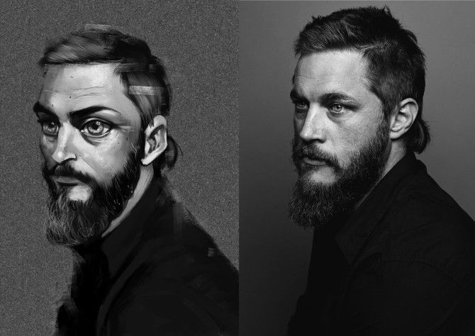 Fantastic Illustrations Of Total Strangers Found On The Web