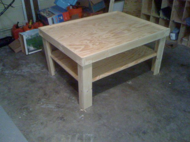 "DIY activity/train table 30""x30"", a bit taller, on wheels. This is exactly what I want to make."