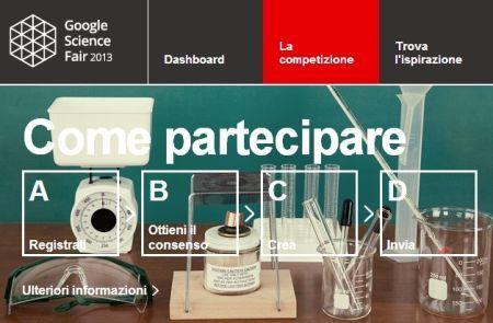 Concorso Scientifico Google per Studenti di età 13-18 anni ( clicca l'immagine x leggere il post )