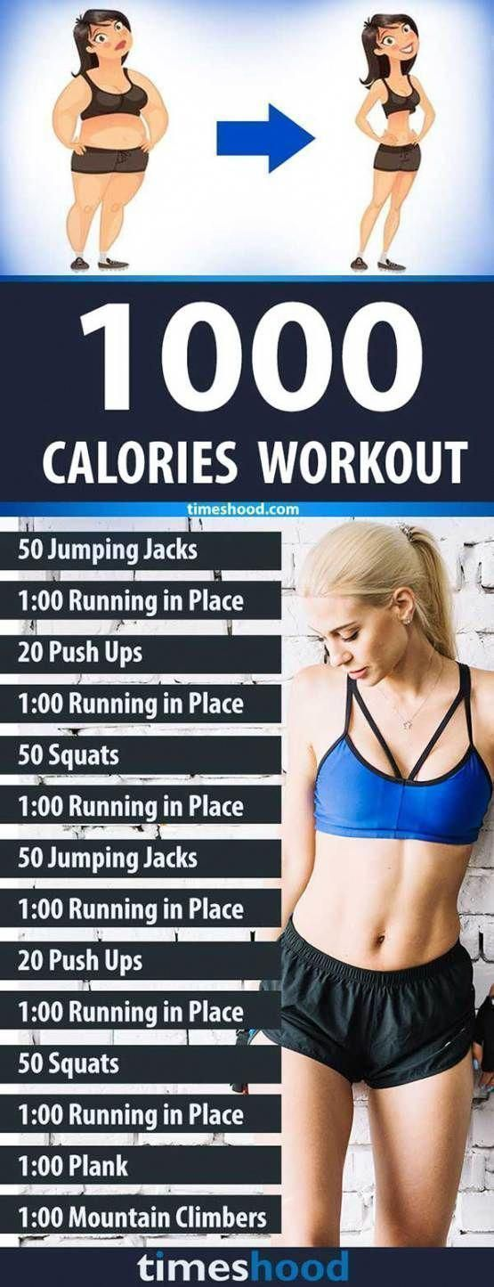 Challenge Losing 1000 Calories With This Session Workout