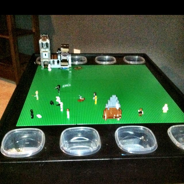 home made lego table 1