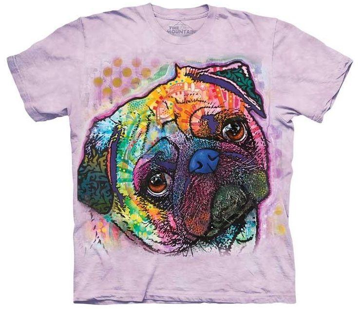 Dog T-Shirt | Lovable Pug Adult