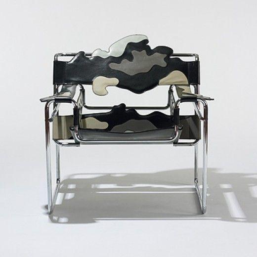 Alessandro mendini wassily chair studio alchimia italy for Wassily stuhl design analyse