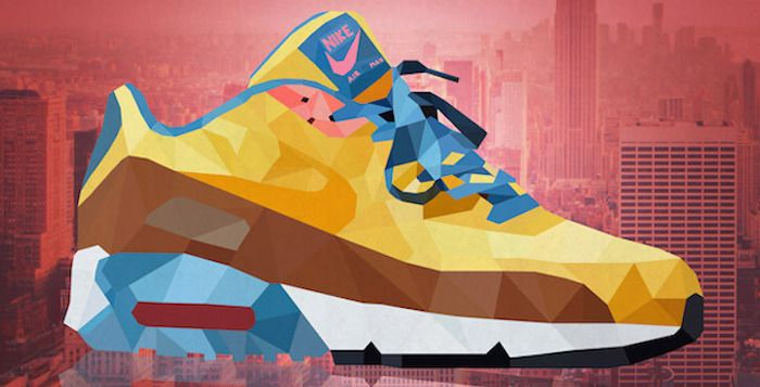 Iconic Sneakers Illustrated by Mateusz Wójcik