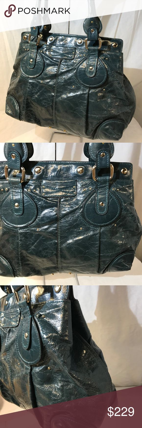 """Chloe vintage distressed soft leather handbag 17.5""""/12""""/5"""". 8"""" drop. in pristine condition, gently worn, imported. Chloe Bags Satchels"""
