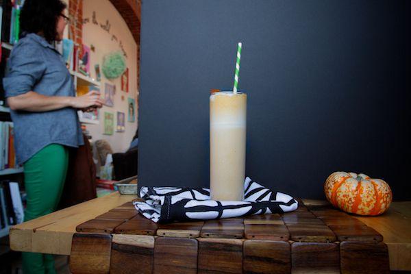 Pumpkin Bourbon Milkshakes | Milkshakes | Pinterest