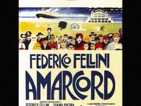 """Amarcord"", such a gorgeous, gorgeous movie and a great soundtrack, created by Nino Rota"