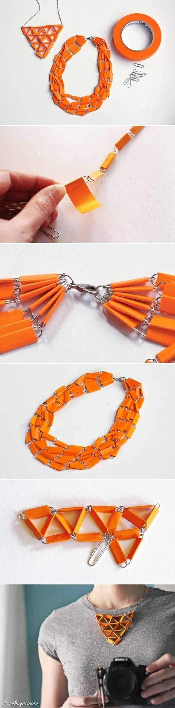 Easy Kids, tweens or teens craft. Works well with patterned duct tape.