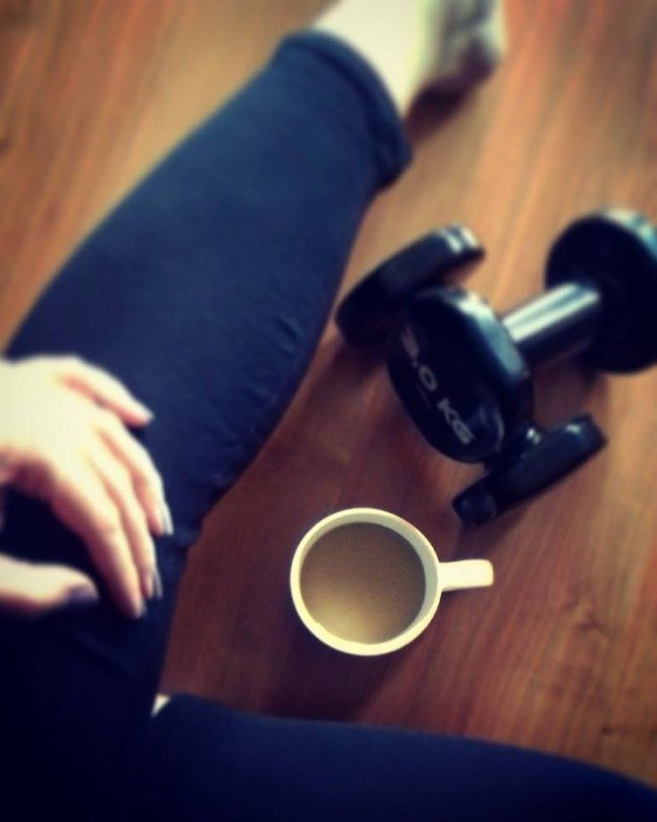 Megérdemelt kávé mozgás után :)