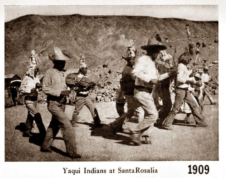 1909 Indios Yaquis en Santa Rosalia en la época de la Cia El Boleo. en 2020    India, Semana santa, Fariseos