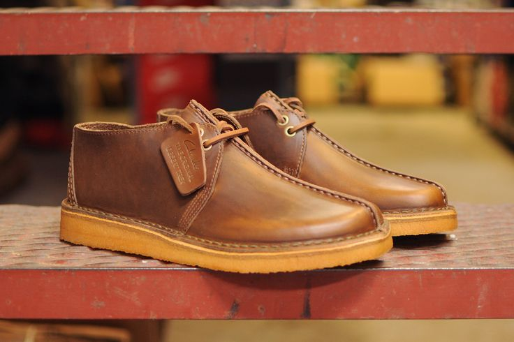 Desert Shoes Leather