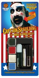 House of 1000 Corpses Captain Spaulding Makeup Kit - 349733 | trendyhalloween.com #halloweenaccessories