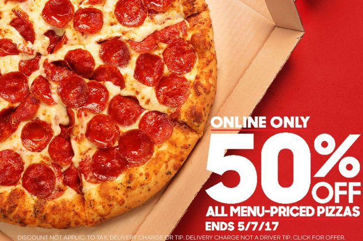 Pizza Hut Deal: 50% Off All Menu-Priced Pizzas!  Be sure to visit our site and search deals for additional savings!
