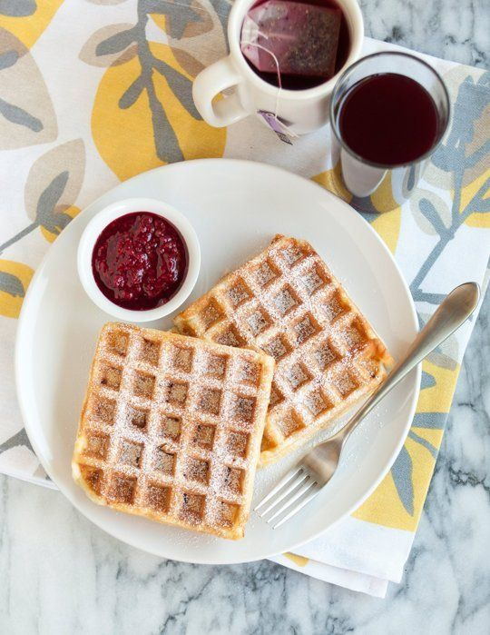 Recipe: Monte Cristo Waffles with Warm Raspberry Sauce — Recipes from The Kitchn