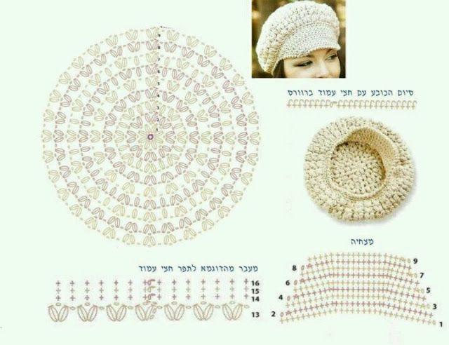 Mejores 31 imágenes de tejidos crochet en Pinterest | Tops de ...