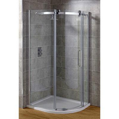 Belfry Pivot Door Quadrant Shower Enclosure | Wayfair UK