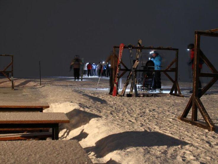 Moonlight Ski à La Plagne