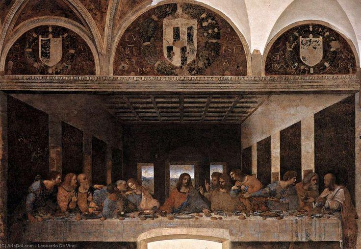 Leonardo Da Vinci-Das letzte Abendmahl