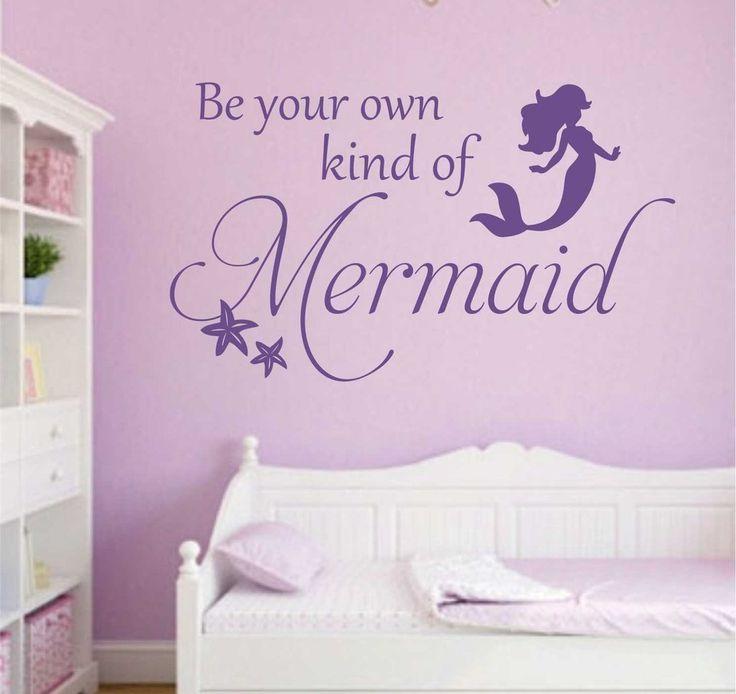 be own mermaid starfish decal