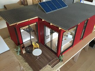 Container model house