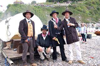 Beer regatta Devon fancy dress